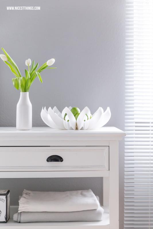 be&liv Petals Obstschale Wohnzimmer Deko im Frühling mit #wohnzimmer #livingroom #beandliv #petals #springdecoration #frühling #frühlingsdeko