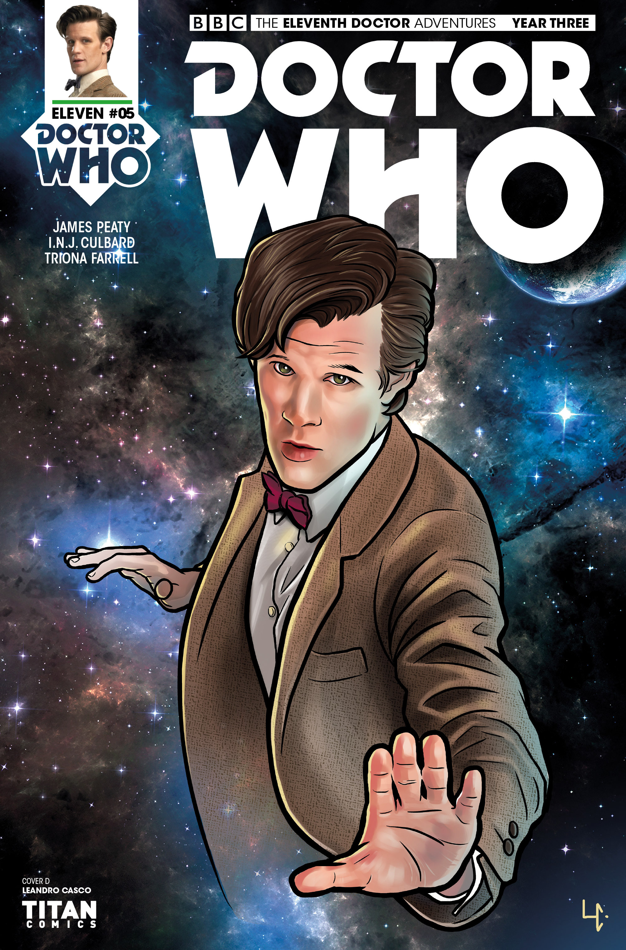 Read online Doctor Who: The Eleventh Doctor Year Three comic -  Issue #5 - 4