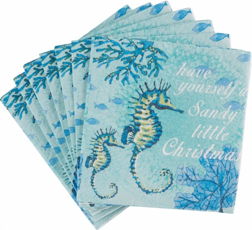 Beach Christmas Paper Napkins