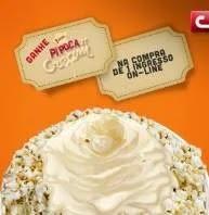 Promoção Cinemark Ganhe Pipoca 'n' Cream Grátis - Nova Pipoca Calda Leite em Pó