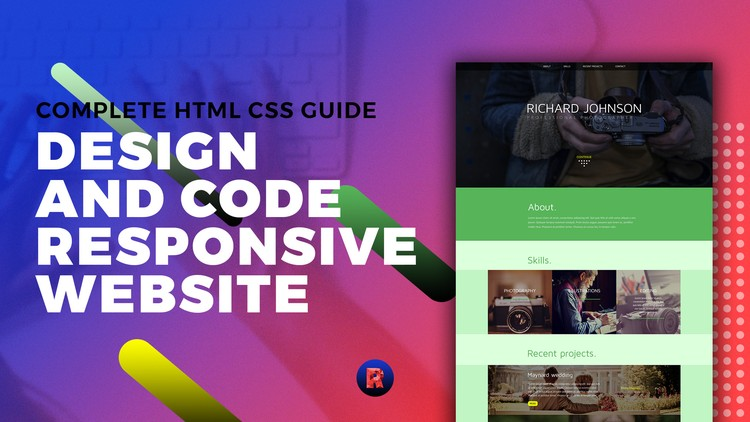 Complete HTML CSS Guide - Design and Code Responsive Website - Udemy Coupon