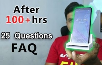 Asus Zenfone Max Pro – FAQ after 100+hrs | Tamil Tech
