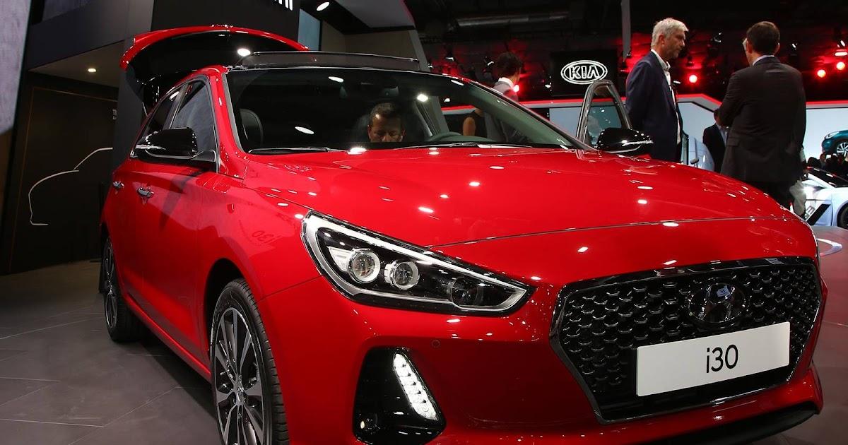 Novo Hyundai I30 2017 é Apresentado No Salão De Paris