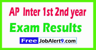 AP Inter 1st 2nd Year Result 2017