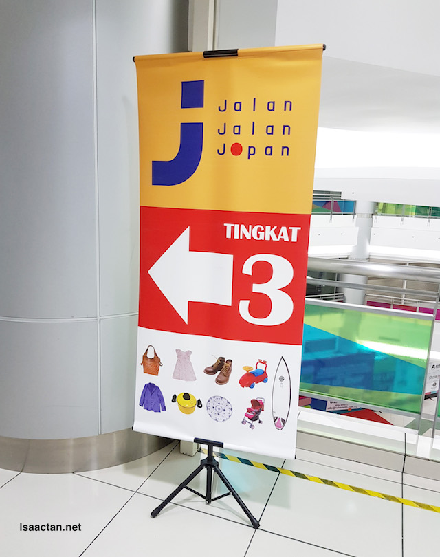 Jalan Jalan Japan is located on the 3rd floor of 1 Shamelin Mall