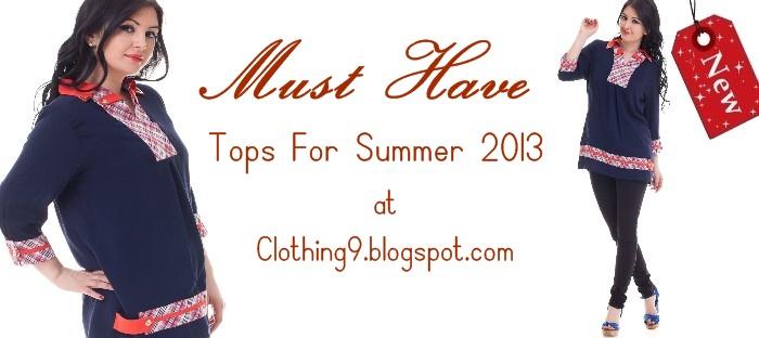 fcda2ec8a22 Designer Summer Tops 2013
