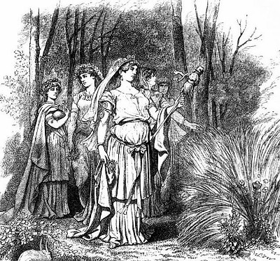 Frigg as Ostara