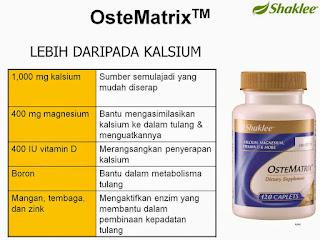 Ostematrix lebih dari kalsium; magnesium; viamin D; zinc; cooper; maganese; boron
