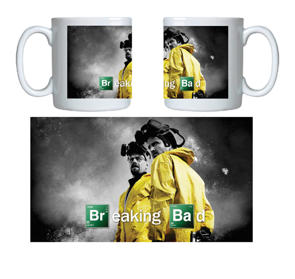 Caneca criativa breaking bad