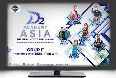 D'Academy Asia 2 ( D'AA 2) Grup F Babak 36 Besar