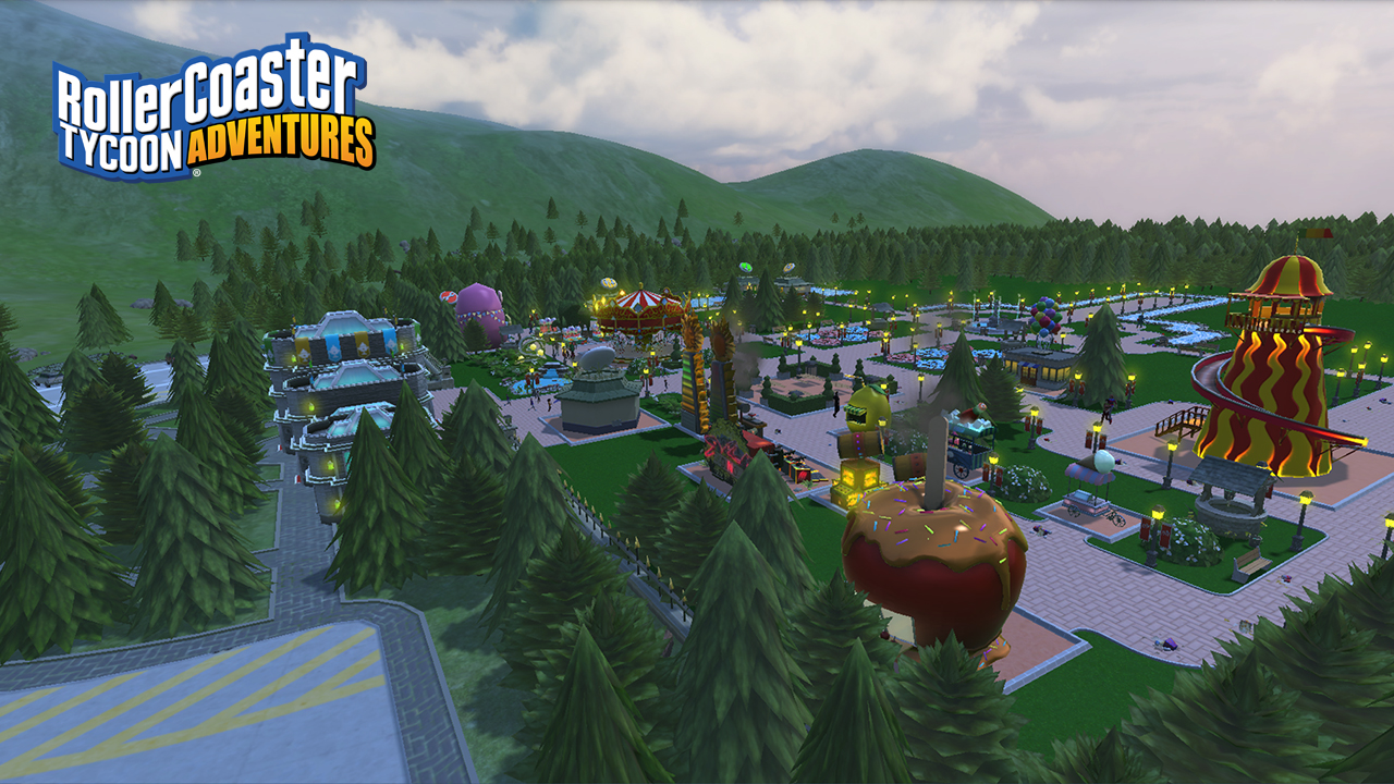 The Edge: We Review RollerCoaster Tycoon Adventures for Nintendo Switch