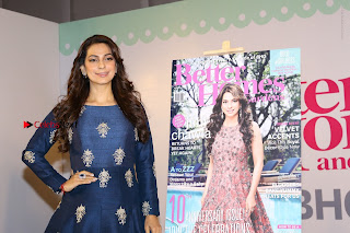 Bollywood Actress Juhi Chawla Launchs Better Homes 10th Anniversary Celetion Cover  0039.JPG