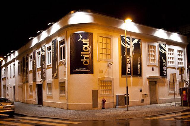 Fachada da Chill Out em Matosinhos - Porto