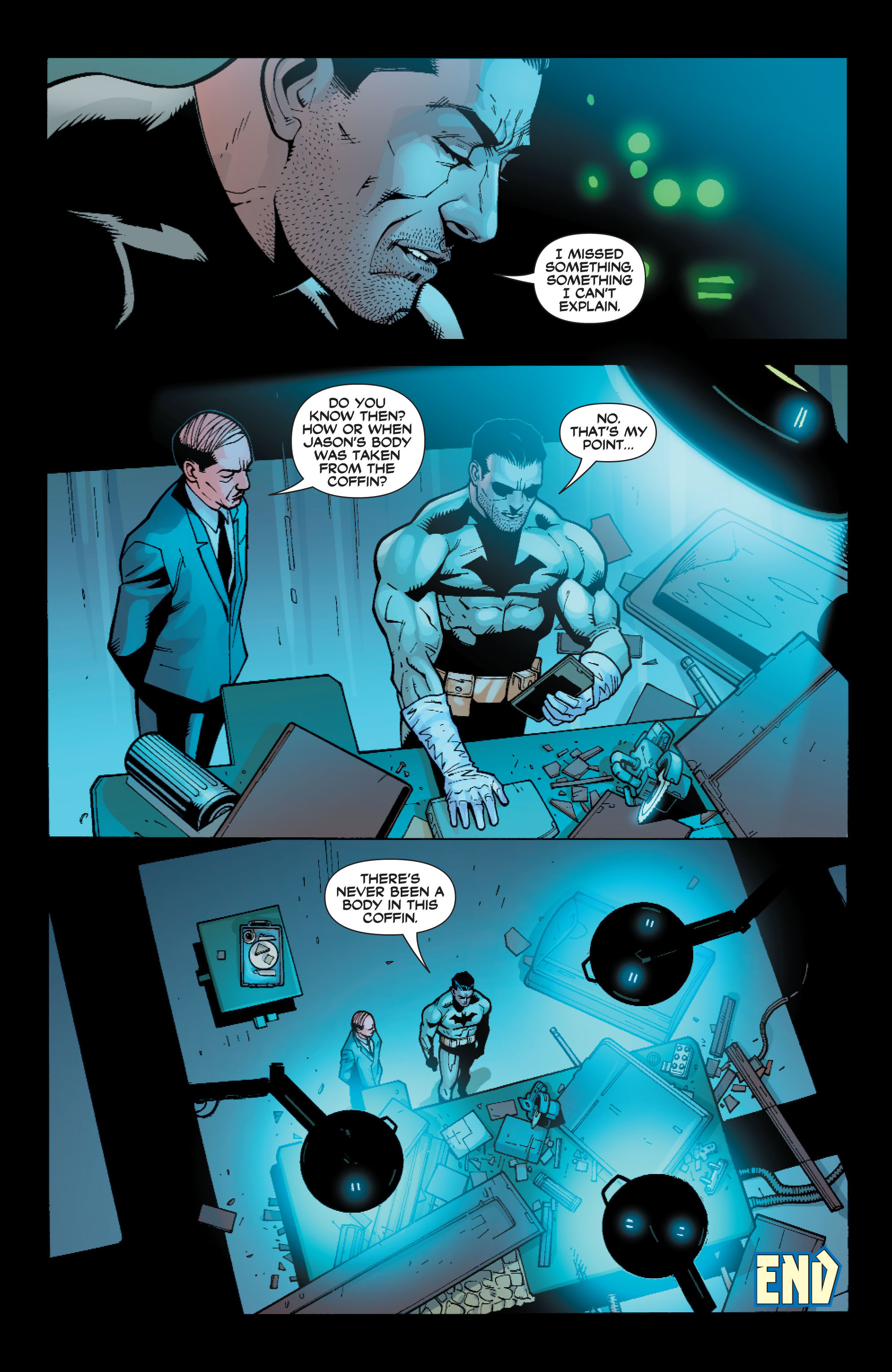 Read online Batman: Under The Red Hood comic -  Issue # Full - 196