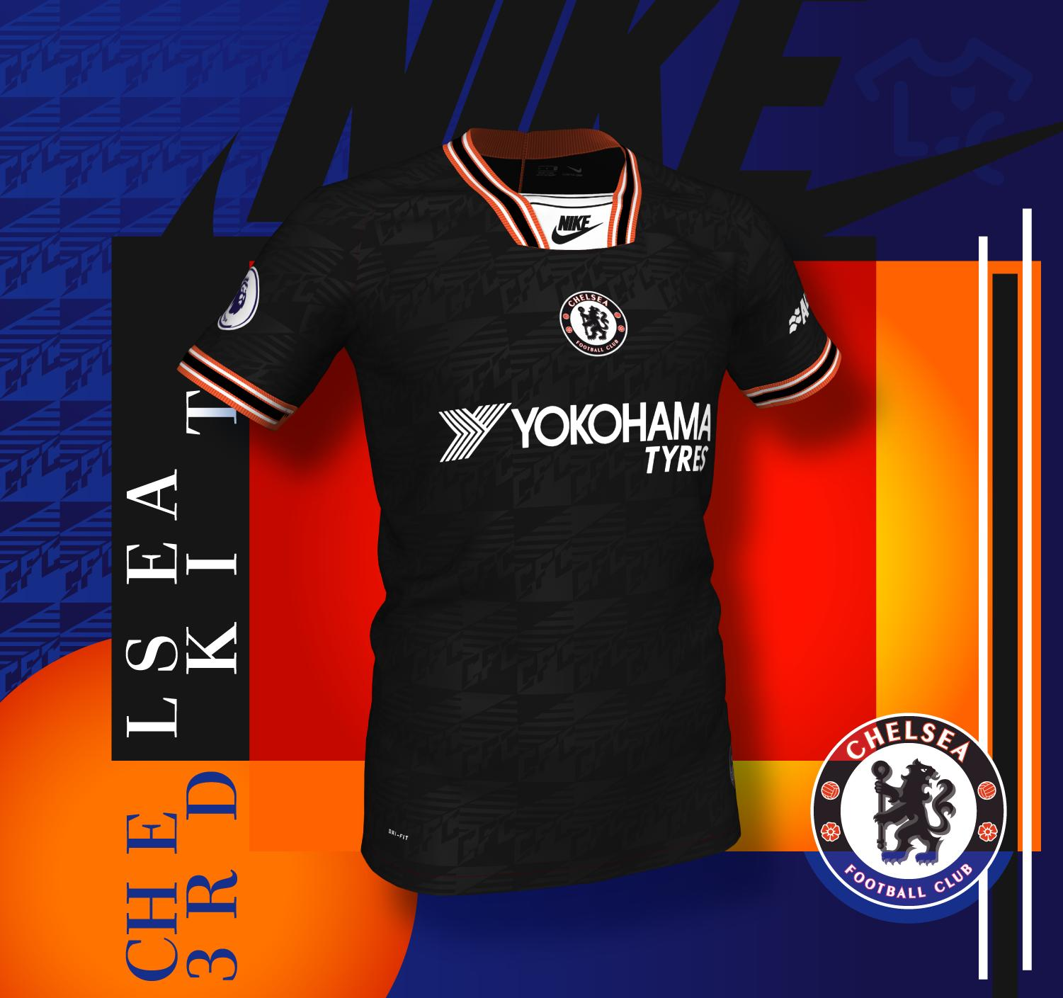 9f47809d6bb Nike Chelsea 2019-20 Third Kit Prediction By La Casaca - Footy Headlines