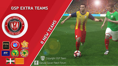 Update Patch PES 2016 dari Garuda Soccer Patch 1.1
