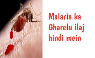 malaria ka gharelu ilaj
