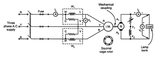 Load Test On Three Phase Induction Motor