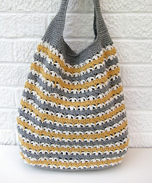 Beautiful Crochet Bag - Free Pattern
