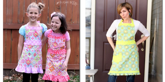 Adult & Child Apron Patterns