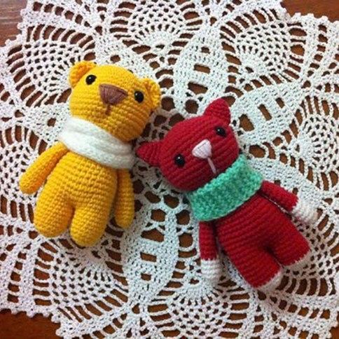 Free Amigurumi Patterns Marmalade Animals Crochet Toy Patterns