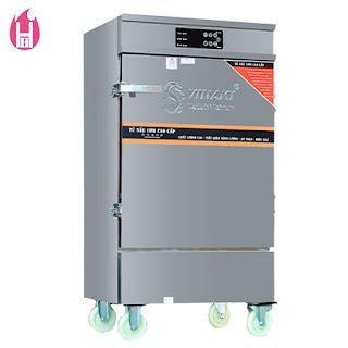 Tủ Nấu Cơm Gas - Điện có Bảng Điều Khiển cảm ứng 6 Khay –TC6K-GĐB