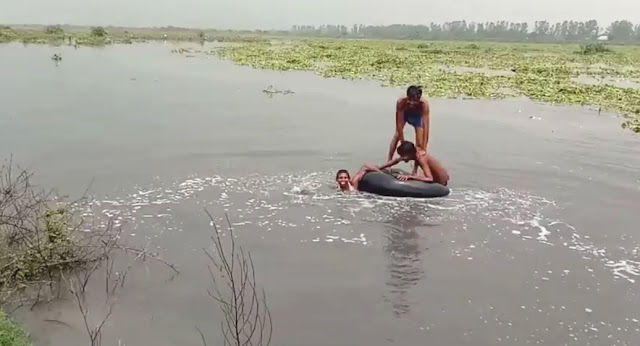 Hathni kund Barrage to Faridabad, the water released in Yamuna reached, fear of crop failure