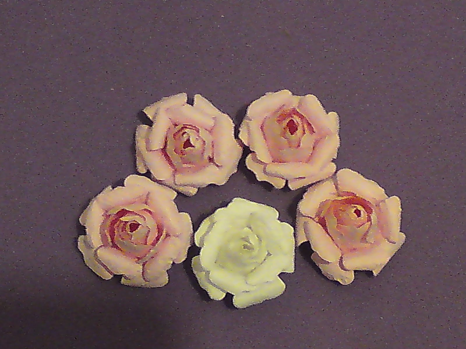 Crafty Loops Flower Tutorial Small Prima Like Roses Using Tim