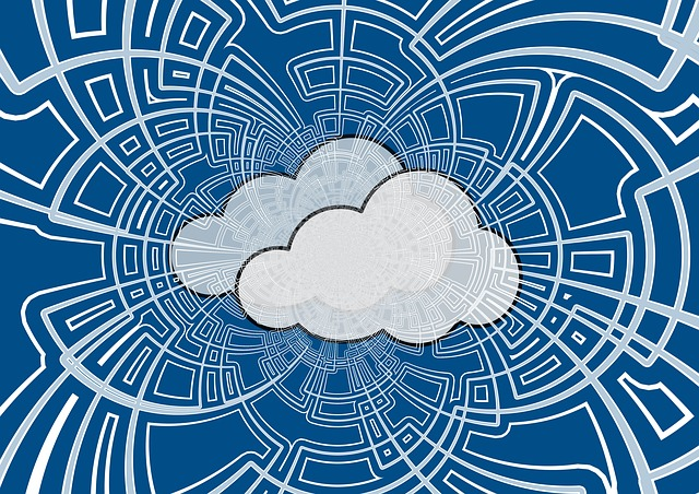 Illustration of a cloud to represent outsourcing