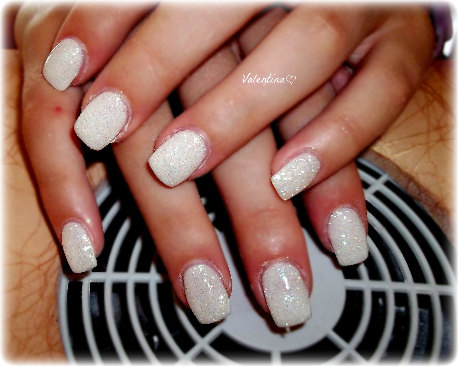 ValeNails ♥: monocolore bianco