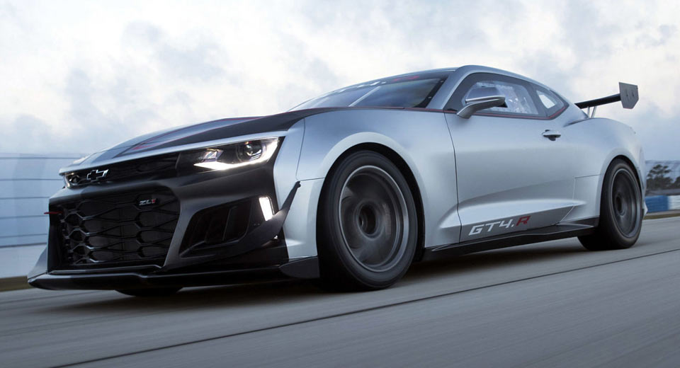 Chevy S New Zl1 Based Camaro Gt4 R Ready To Face The World