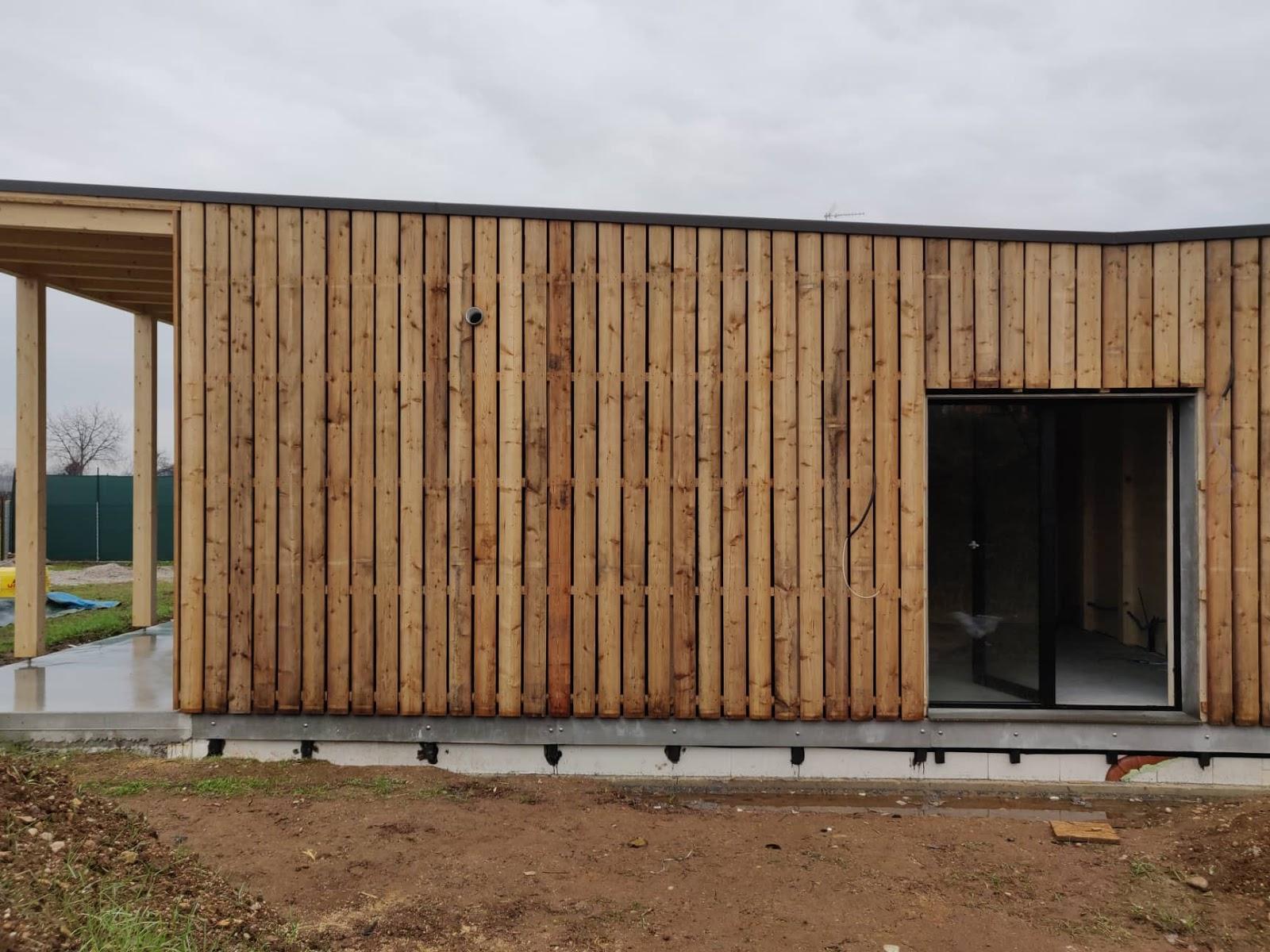 Rivestimento Casa In Legno l'intimità della casa in legno - studio di architettura a