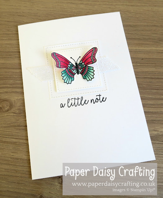 Butterfly Gala Duet Punch Stampin' Up!