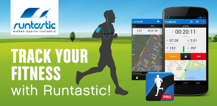 Runtastic Running PRO android için koşu süresi mesafesi kalori takip uygulaması APK İndir - androidliyim
