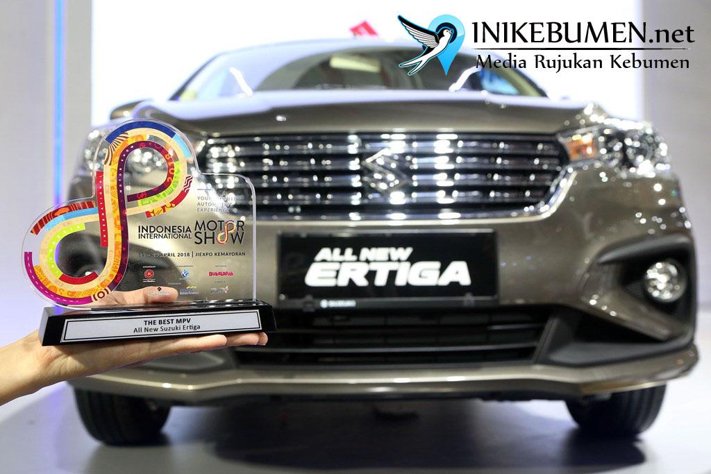 All New Ertiga Raih The Best MPV di Ajang IIMS Awards 2018