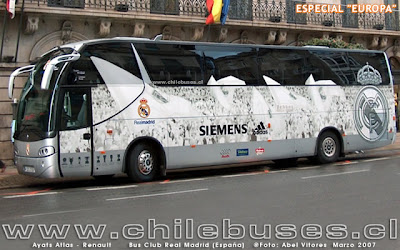 Real Madrid FC bus