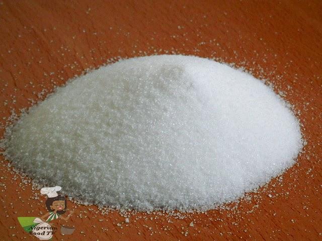recipe: 1 cup granulated sugar to powdered sugar [11]