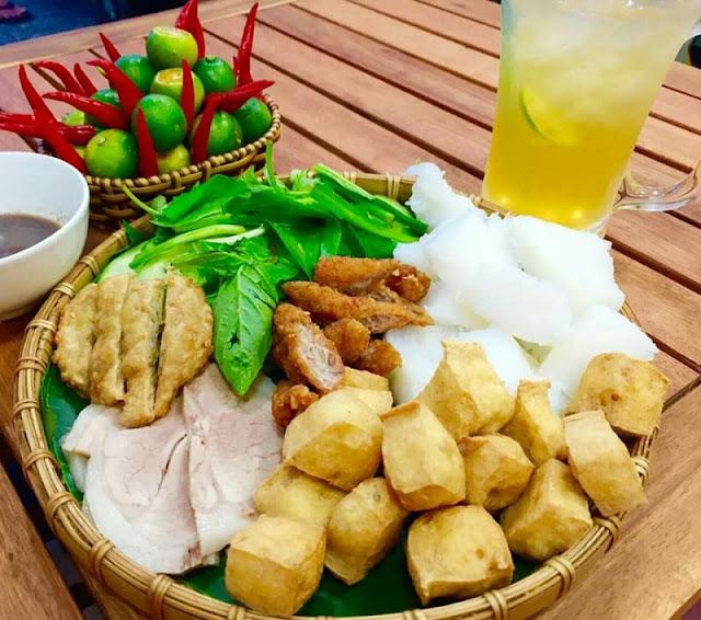 Hanoi Cuisine: Bun Dau Mam Tom 2