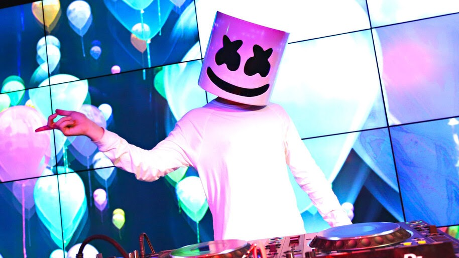 DJ, Marshmello, Live, 4K, #4.1391