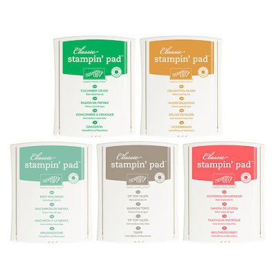 Stampin' Up! In Colour Collection 2015-17 Grab them here now