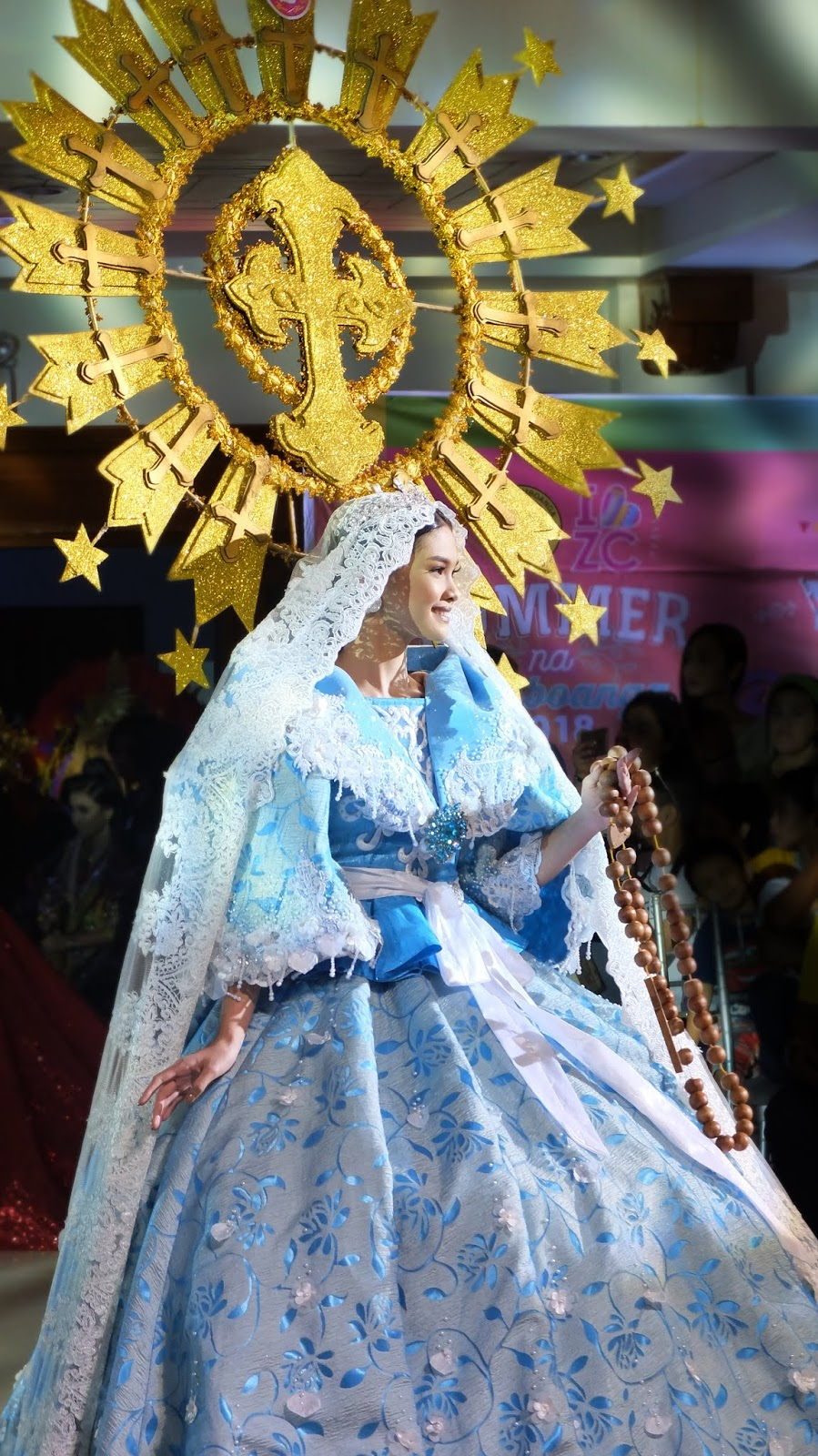 Zamboanga Hermosa Festival or Fiesta Pilar Festival de las Bellas y Flores Gown Competition National Costume