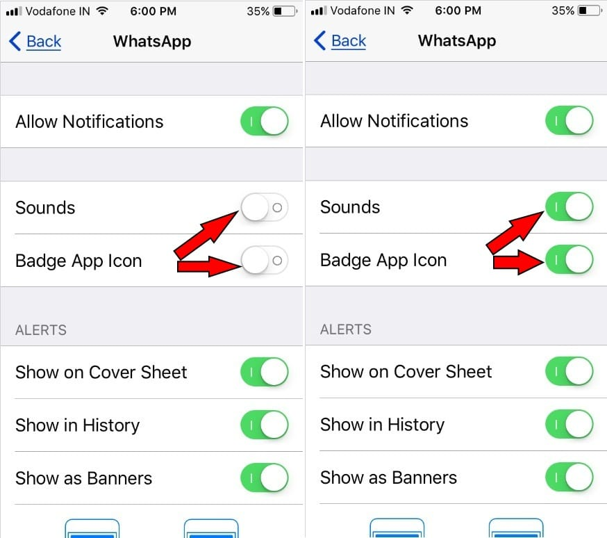 ipad mini notification sounds not working