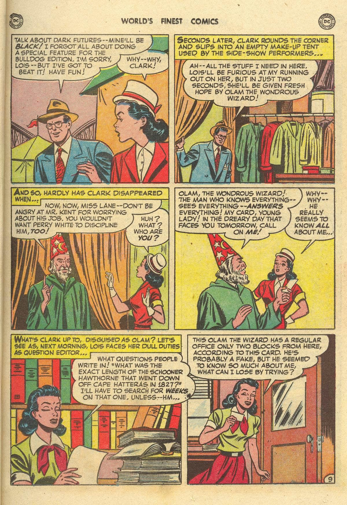 Read online World's Finest Comics comic -  Issue #51 - 11