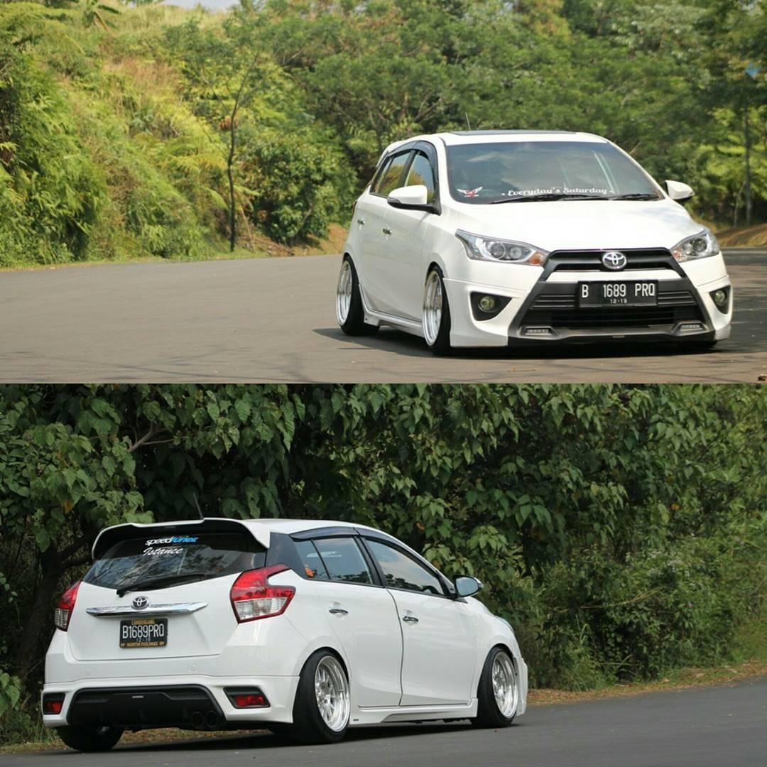 Modifikasi Mobil All New Yaris Ceper Putih Owner 89agriyadi All