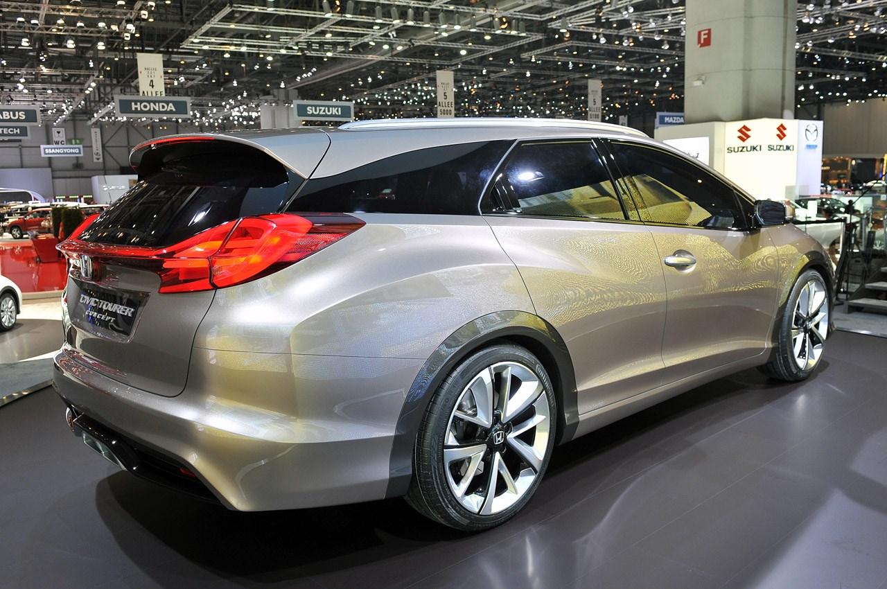 2014 Honda Civic Tourer Concept Photos - WallpapersACars