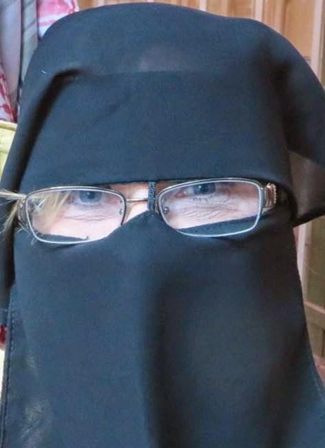 bankraner med niqab