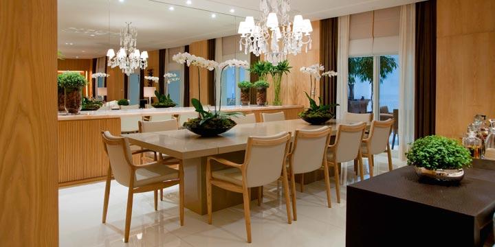 Decoraç u00e3o de sala de jantar 20 salas de jantar modernas e atuais Decor Alternativa