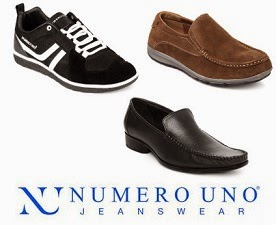 Flat Extra 50% OFF Numero Uno Casual & Formal Shoes, Flip-Flops, Sandals @ Myntra