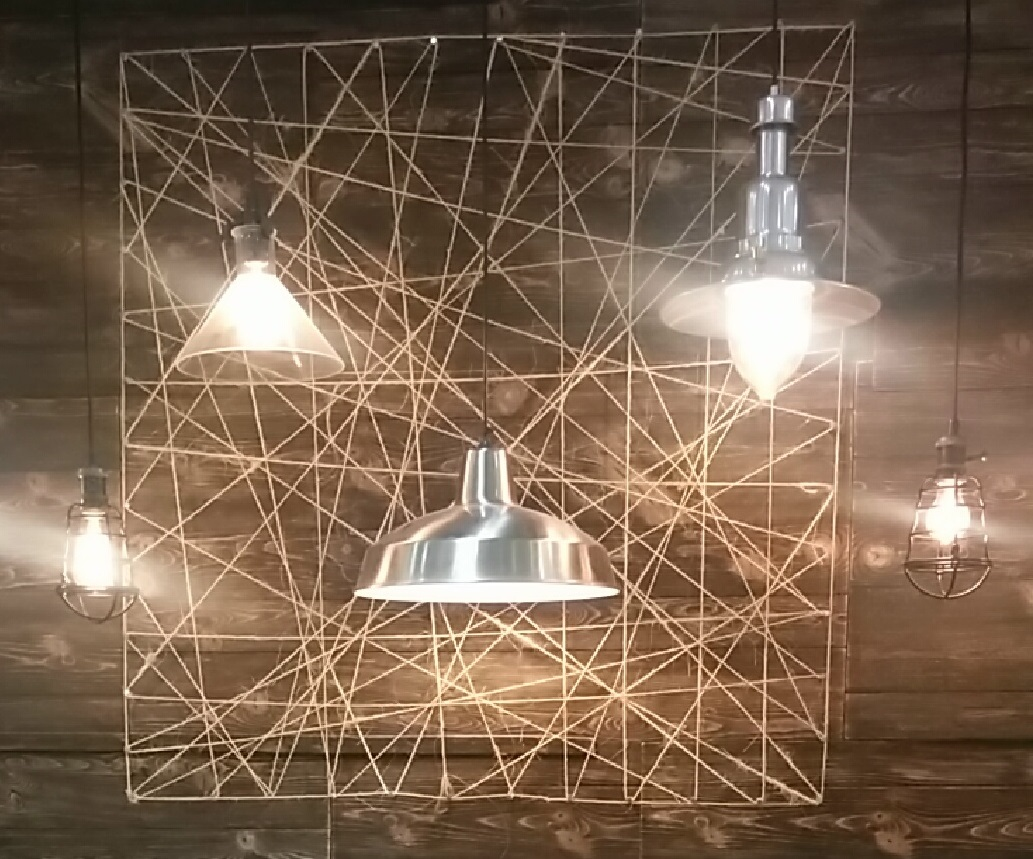 Dizzida Diy Home Decor String Lights String Art
