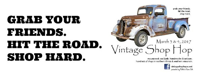 Vintage Shop Hop in Illinois and Wisconsin March 3-4, 2017